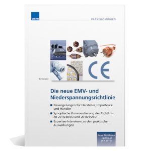 """Das Fachbuch """"Die neue EMV- und Niederspannungsrichtlinie"""""""