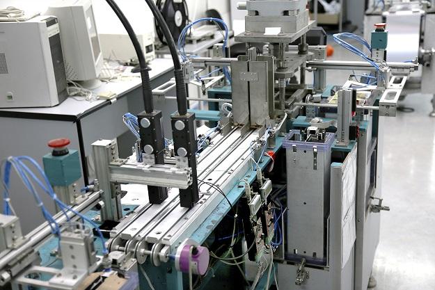 Teil einer Industriemaschine