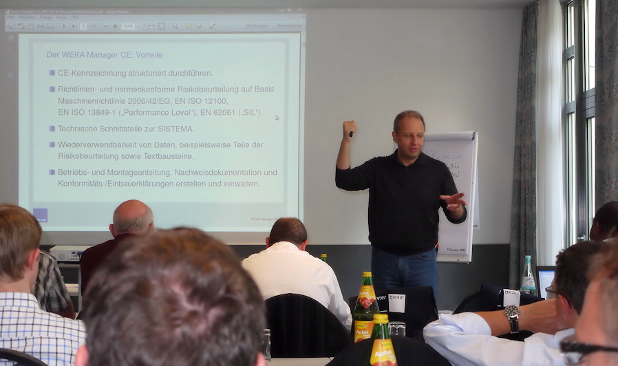 Workshop softwaregestütze CE-Kennzeichnung in Stuttg