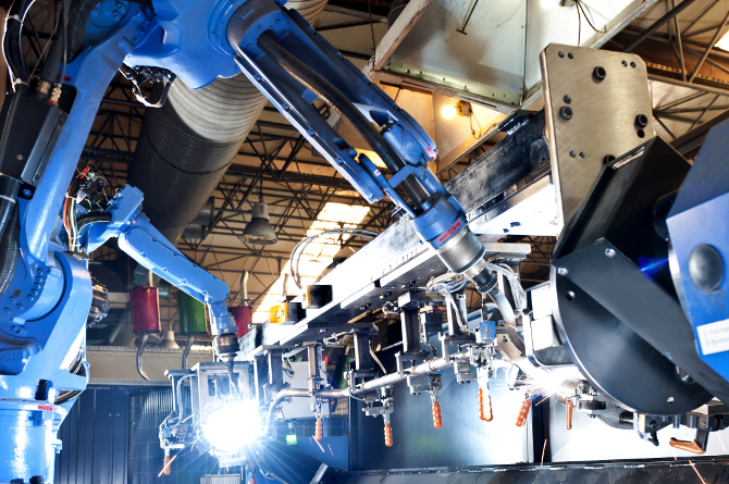 Security Industrieroboter Maschinenbau