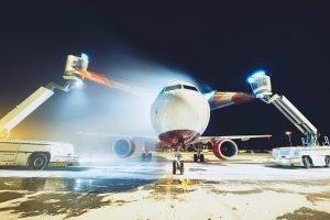 Enteisung Flugzeug
