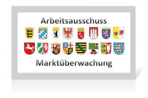 Der Arbeitsausschuss Marktüberwachung koordiniert die Zusammenarbeit der 16 Bundesländer.