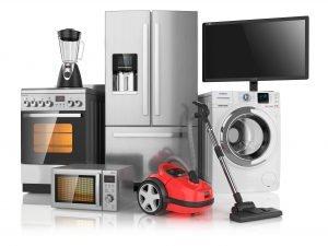 Der Geltungsbereich der Niederspannungsrichtlinie umfasst die meisten typischen Elektrogeräte aus Alltag und Beruf